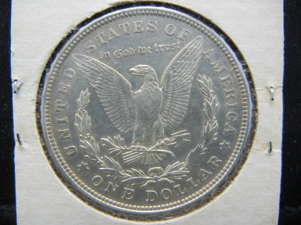 Lot 7B: 1921 Morgan Silver Dollar