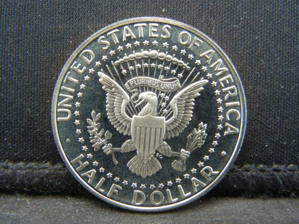 Lot 24N: 1988-S Proof Kennedy Half Dollar.