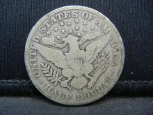 Lot 12B: 1911-S Barber Half Dollar