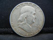 Lot 21B: 1952 Franklin Half Dollar
