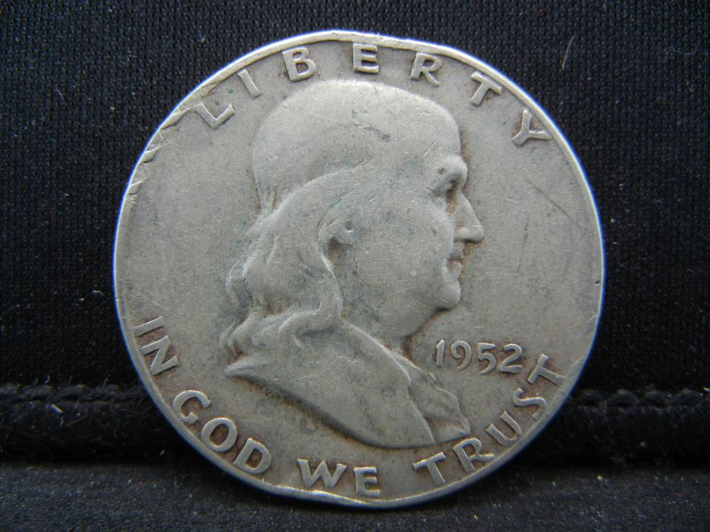 Lot 20B: 1952-S Franklin Half Dollar