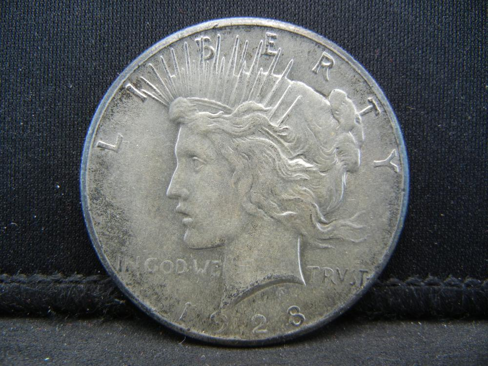 1928 Key Date Peace Dollar