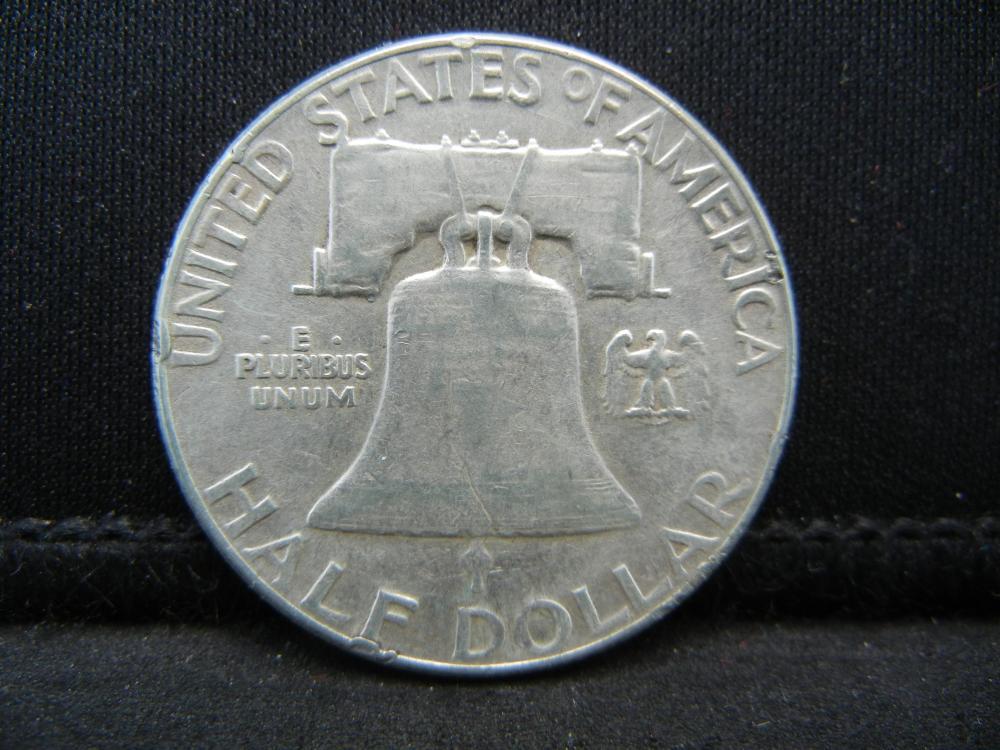 Lot 22B: 1955 Franklin Half Dollar