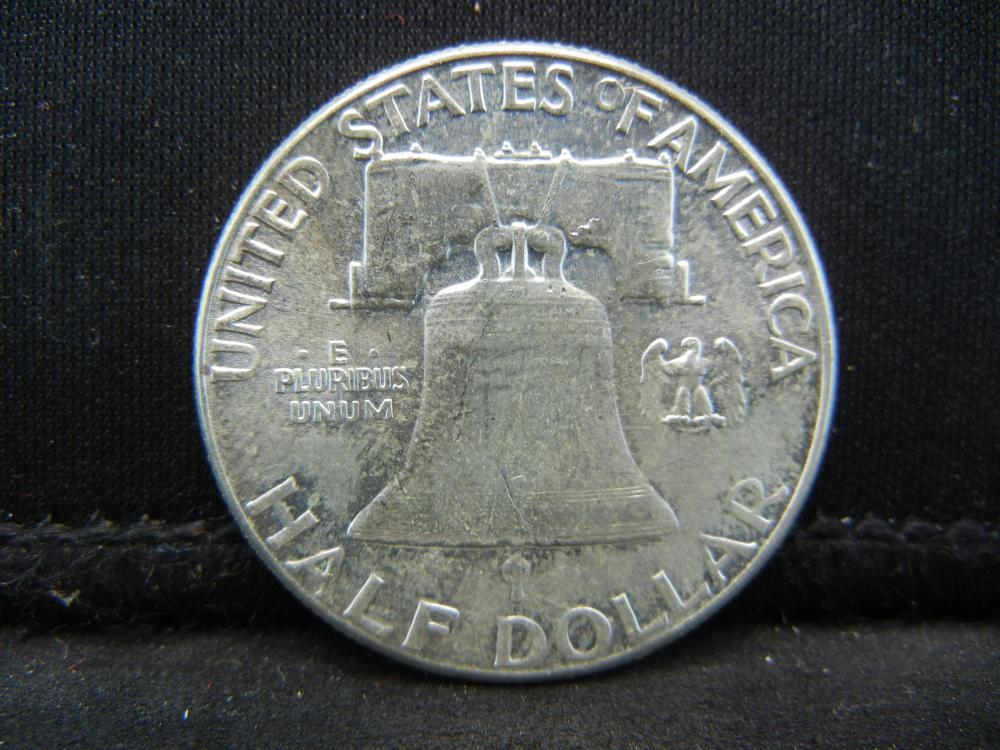 Lot 23B: 1958 Franklin Half Dollar