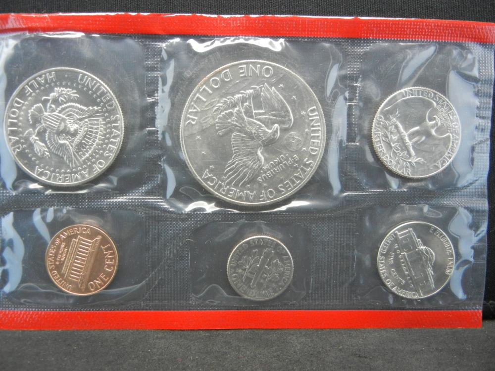 Lot 30N: 1974 United States 13 Coin Mint Set With Original Packaging.