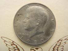 Lot 33N: Kennedy-Lincoln Assassination Astonishing Coincidences 1980 Engraved Half Dollar Set.