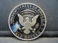 Lot 34N: 1991-S Proof John Kennedy Half Dollar.