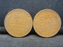 Lot 35N: 1932-D 1933-D Lincoln Wheat Cents.