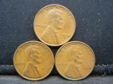 Lot 36N: 1930 PDS Lincoln Cents.