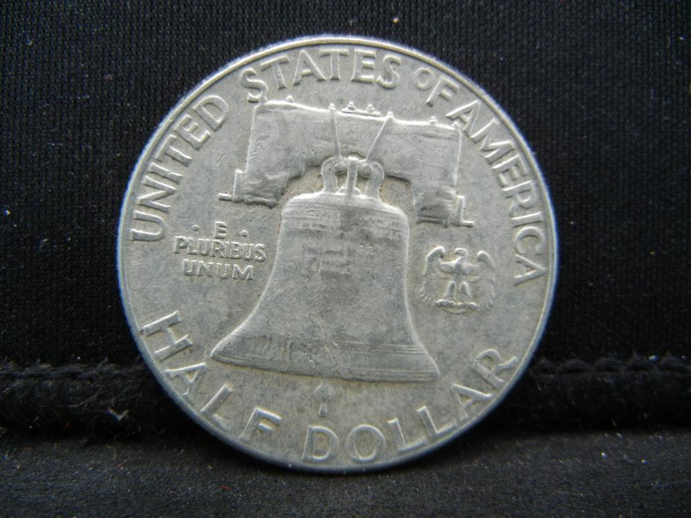 Lot 29B: 1961 Franklin Half Dollar