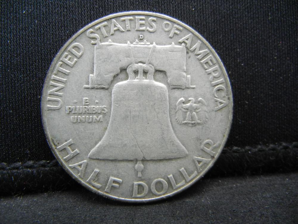 Lot 24B: 1958-D Franklin Half Dollar