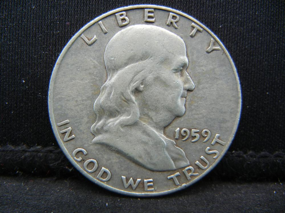 1959-D Franklin Half Dollar