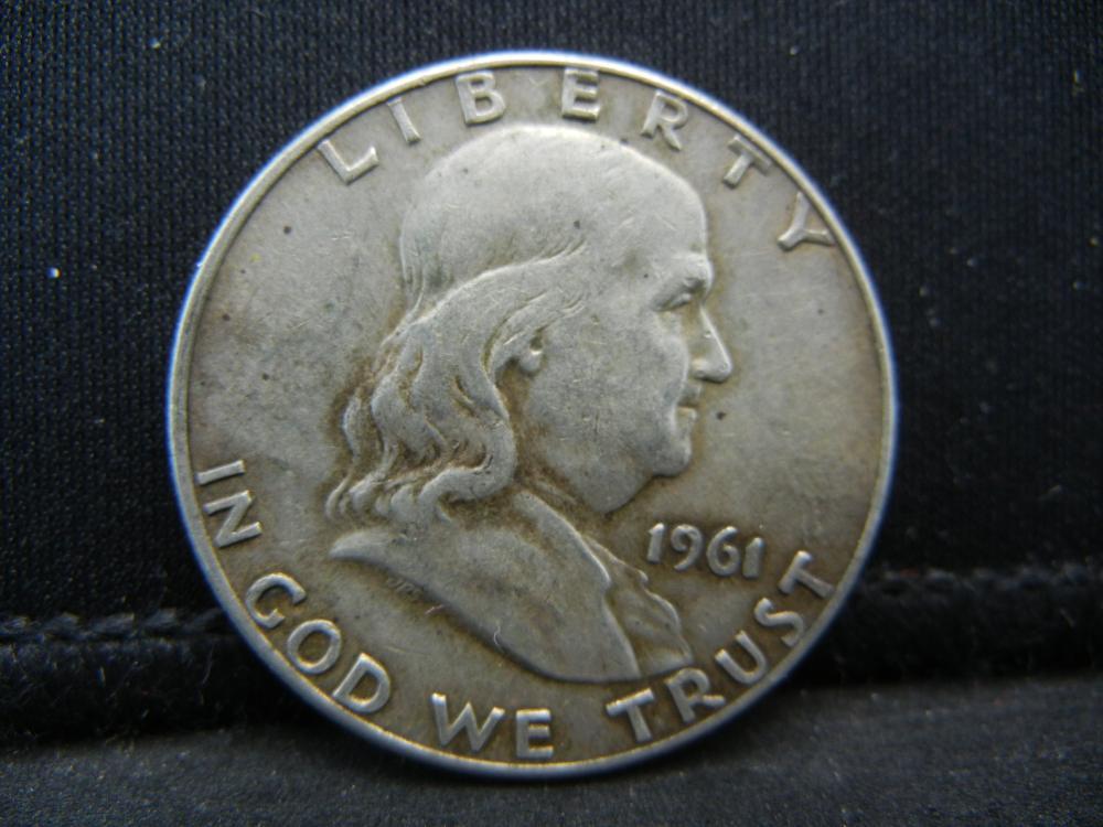 Lot 30B: 1961-D Franklin Half Dollar