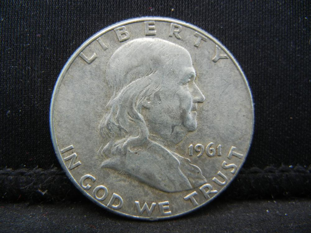 1961 Franklin Half Dollar