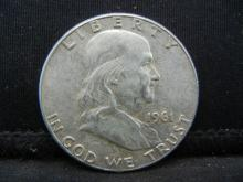 Lot 29B: 1961 Franklin Half Dollar