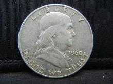 Lot 28B: 1960-D Franklin Half Dollar
