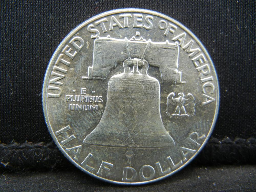 Lot 31B: 1962-D Franklin Half Dollar