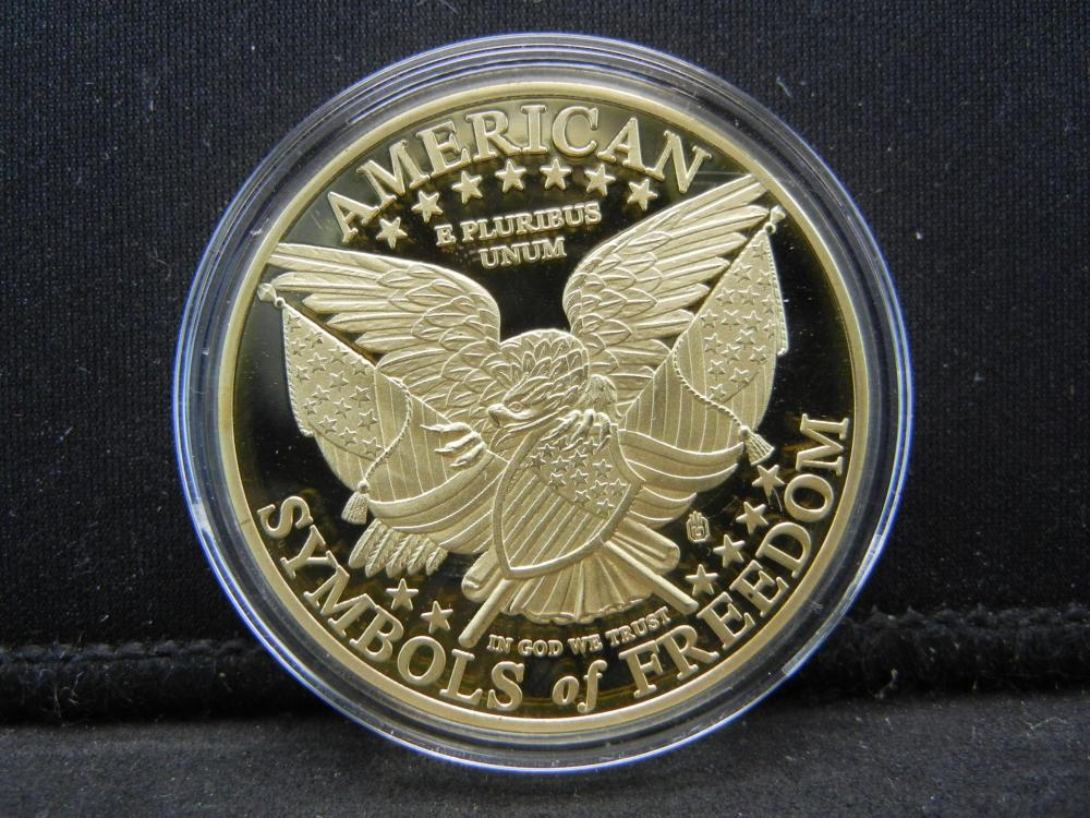Lot 37N: United States of America Statue of Liberty Commemorative Medal.