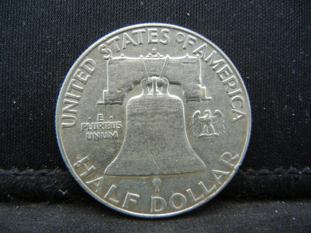 Lot 33B: 1963-D Franklin Half Dollar