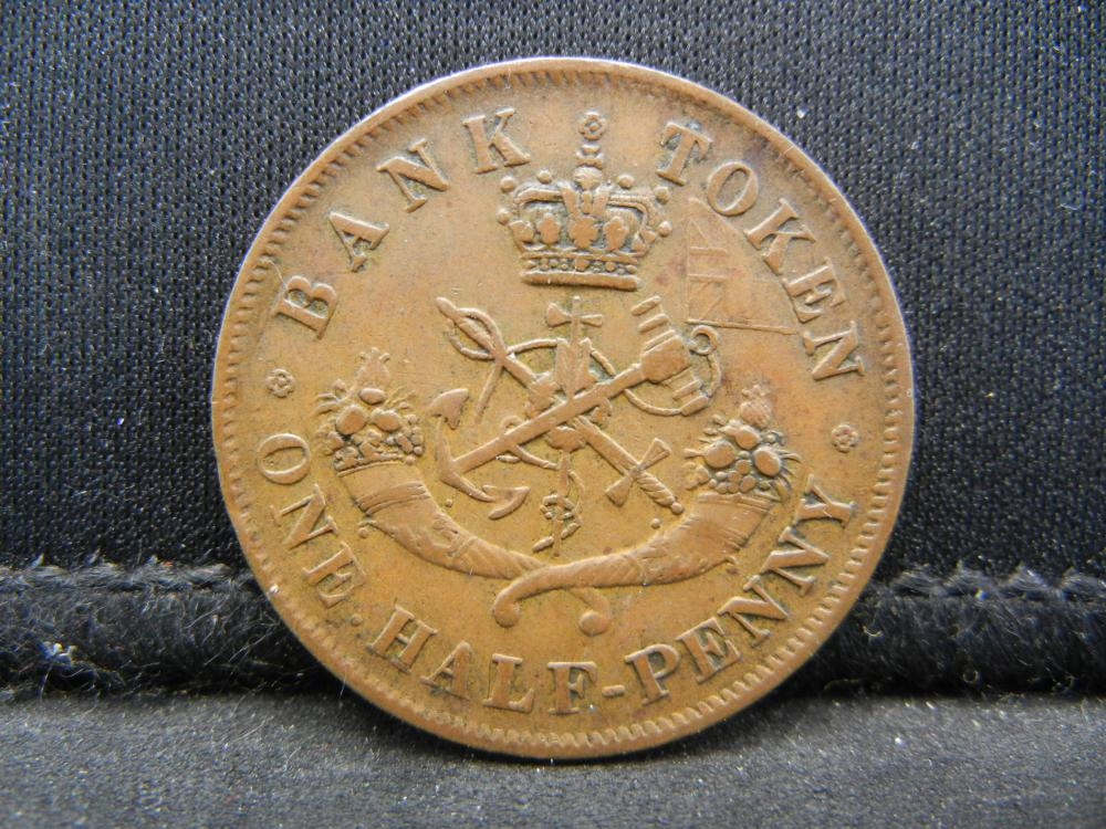 Lot 33C: 1857 CANADA 1 PENNY, 162 YEARS OLD