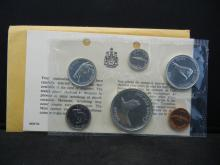 Lot 6: 1967 Canada Proof-like set in original package. Great animal set. $1.85 face in silver.