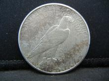 Lot 36B: 1925-S Peace Dollar