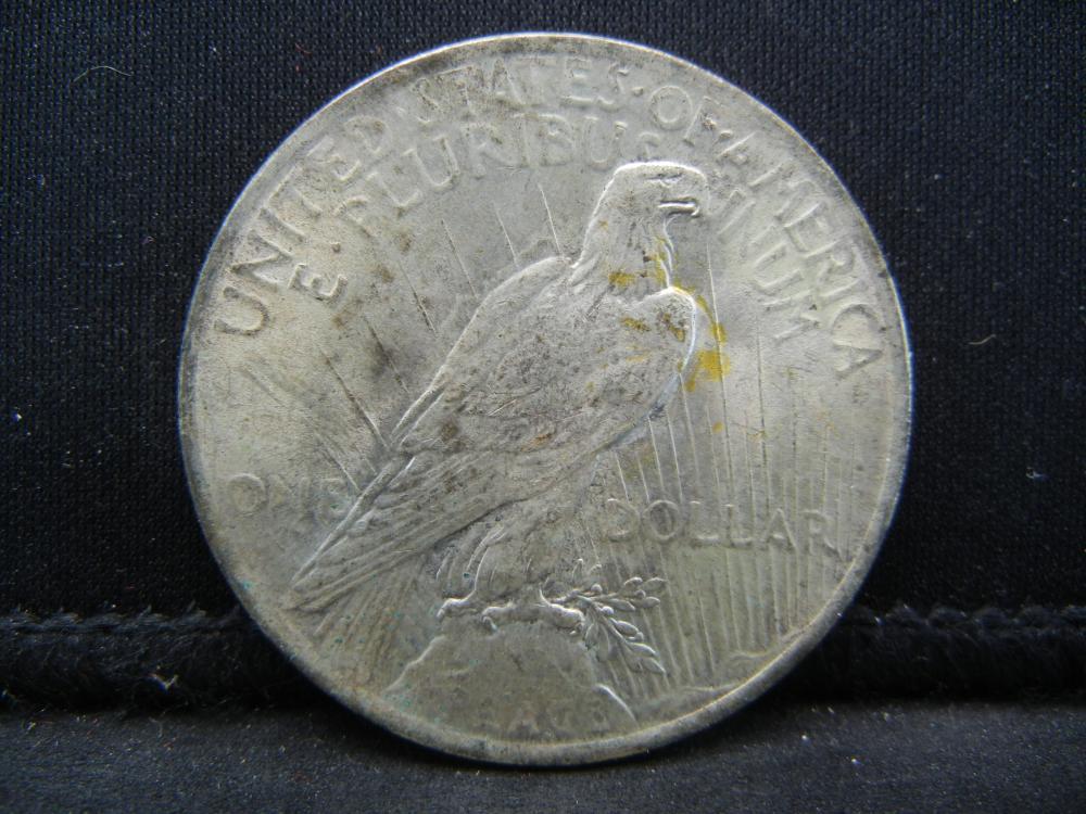 Lot 35B: 1923 Peace Dollar