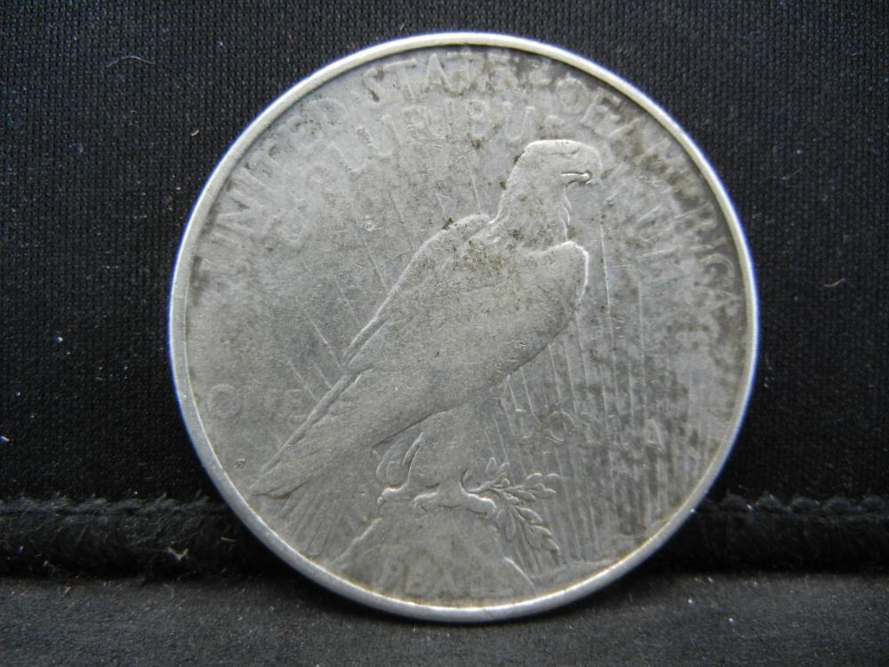 Lot 39B: 1923-S Peace Dollar