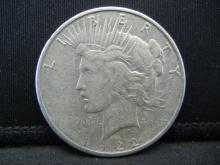 Lot 38B: 1922-S Peace Dollar