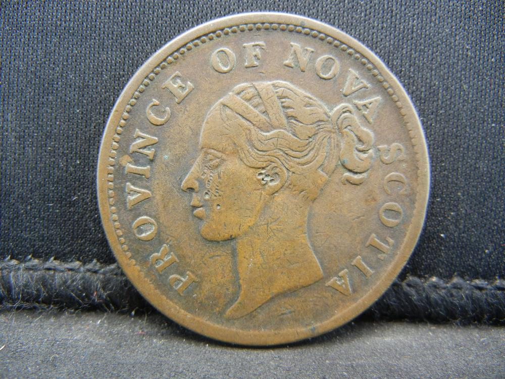 Lot 42C: 1840 CANADA 1 PENNY, HARD TO FIND, 179 YEARS OLD