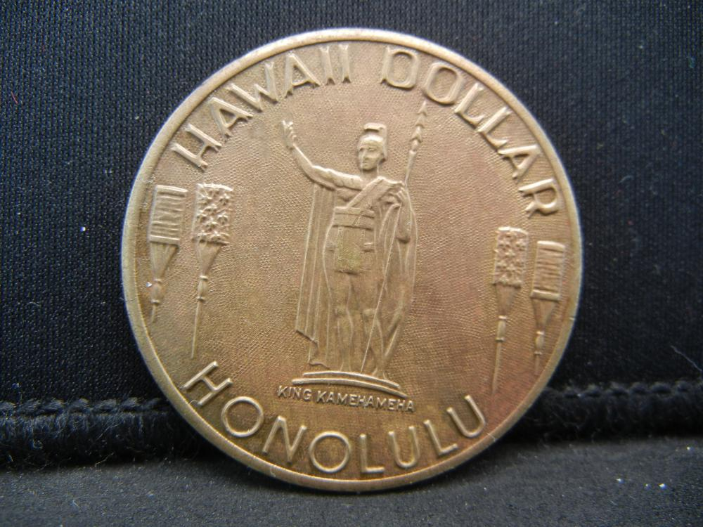 Lot 39C: HONOLULU DOLLAR (WAIKIKI BEACH), OWN HISTORY