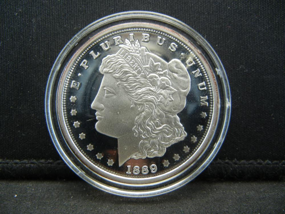 COPY 1889-CC Tribute Coin.  Fill that tough hole with this one (copy).  Proof.
