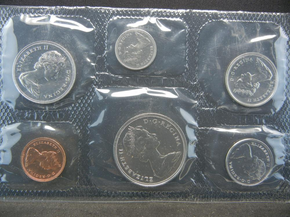 Lot 5A: 1971and 1972 Canadian Mint Sets.