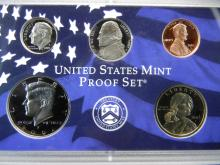 Lot 2Y: 2002 US Mint Proof Set - 10 Deep Cameo GEMS