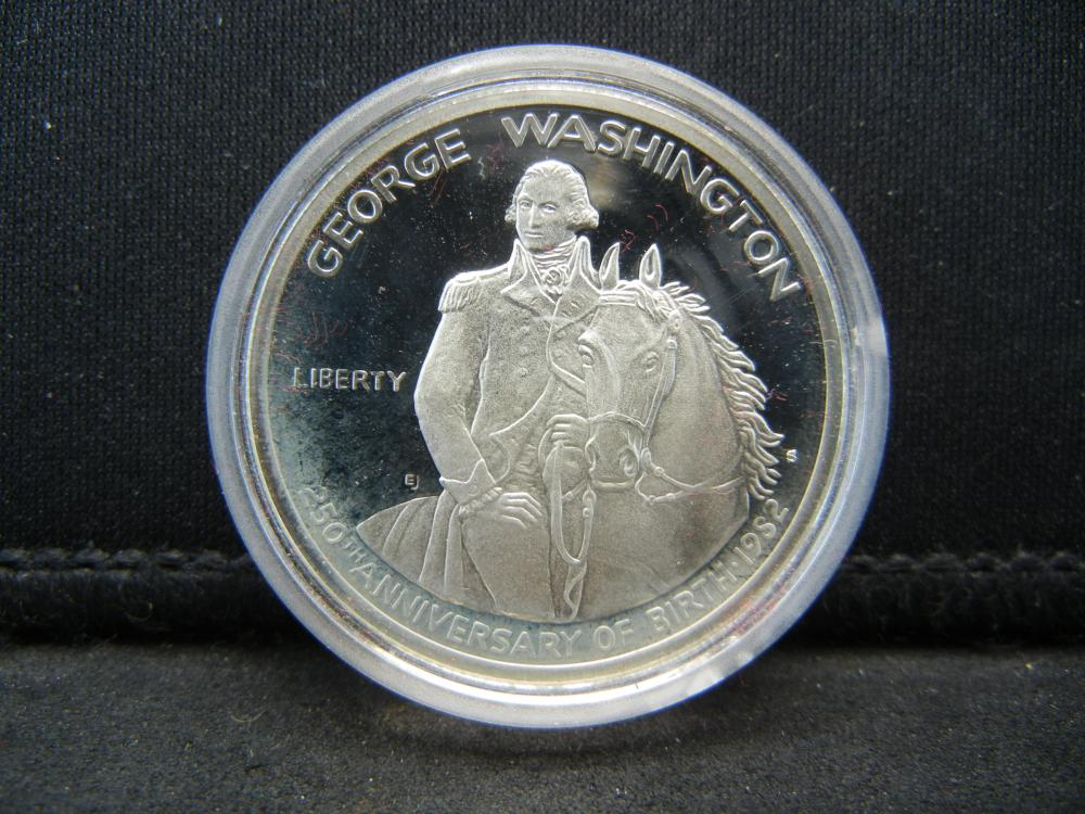 Lot 3Y: 1982 Washington 90% Silver Commemorative Proof