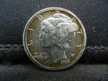 Lot 4S: 1916 Mercury Dime