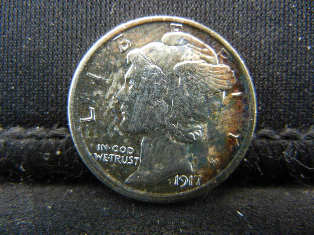 Lot 5S: 1917-S Mercury Dime