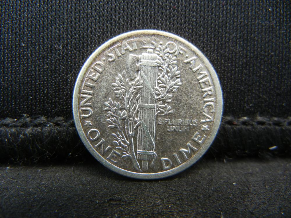 Lot 12S: 1919 Mercury Dime
