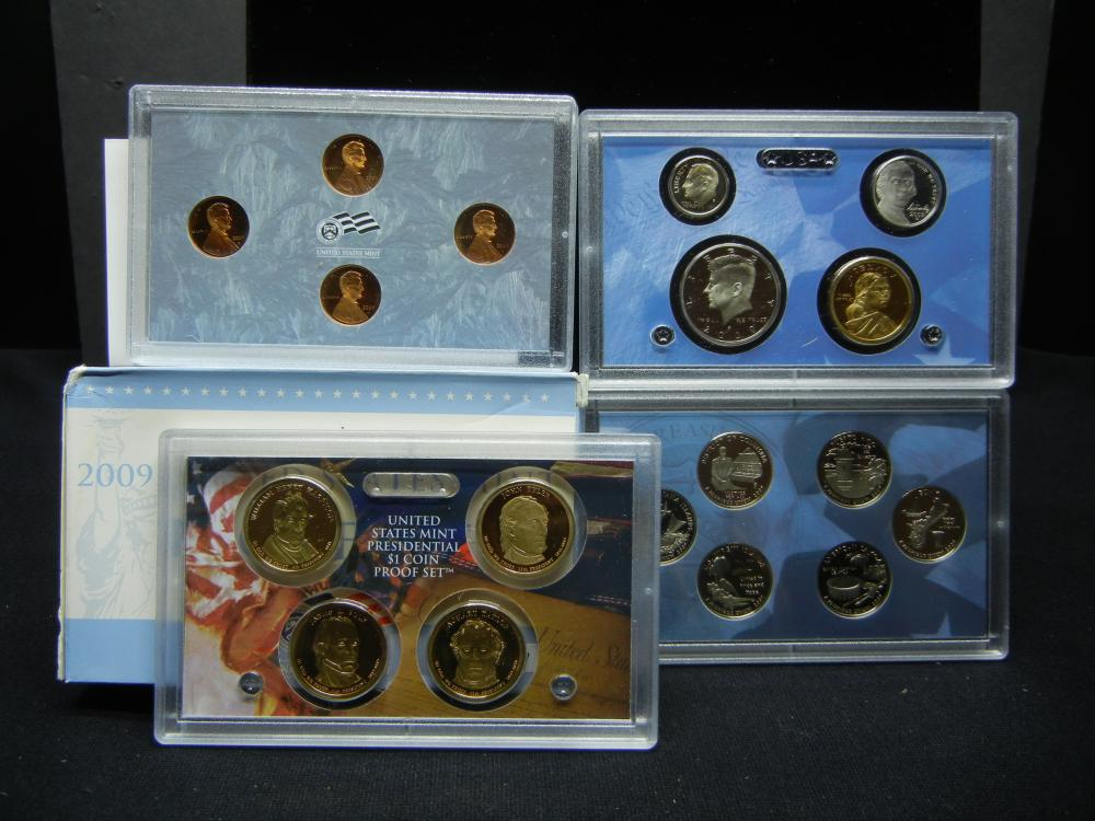 2009 US Mint Proof Set - Key Date Set