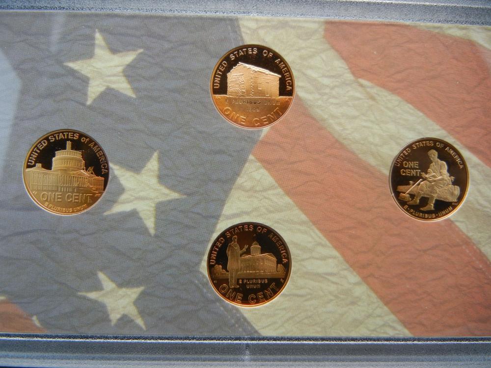 Lot 8Y: 2009 US Mint Proof Set - Key Date Set