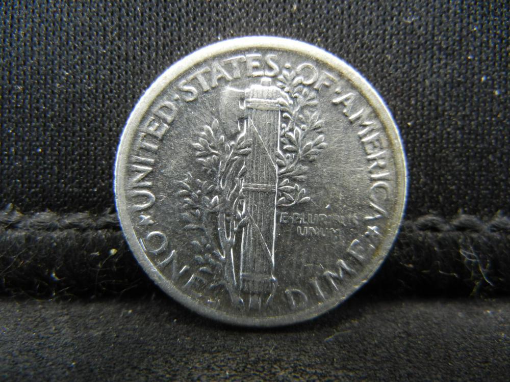 Lot 13S: 1920-S Mercury Dime