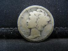 Lot 17S: 1921 Mercury Dime