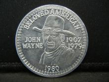 Lot 75C: (THE DUKE) JOHN WAYNE/1907-1979, UNCIRCULATED