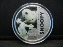 Lot 68C: (SNOOPY/THE PEANUTS MOVIE), Encapsulated For Future Preservation, Novelty