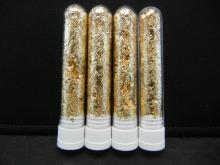 Lot 71C: (4) Vials of 22k Gold Leaf Flakes