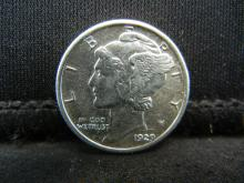 Lot 26S: 1929 Mercury Dime