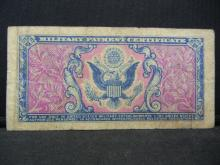 Lot 32Y: WWll Military Payment Certificate