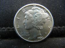 Lot 36S: 1930-S Mercury Dime