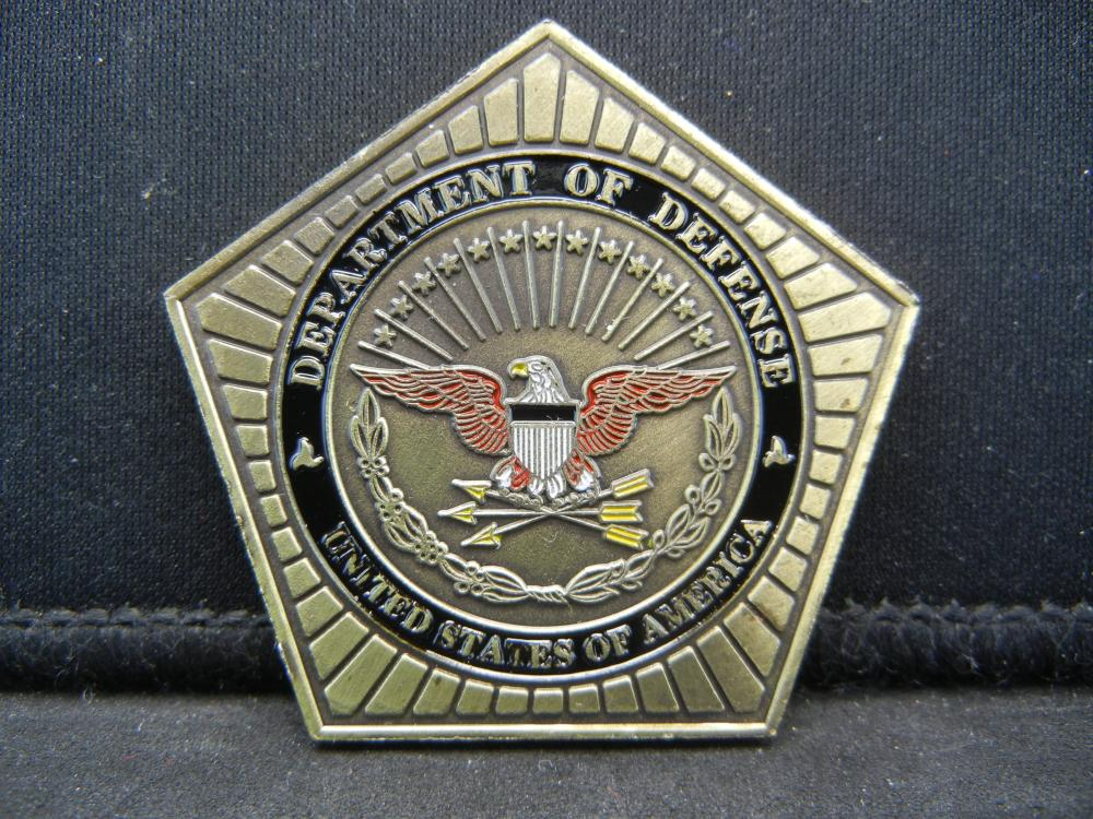 Lot 78C: DEPT OF DEFENSE (THE PENTAGON), ARMY/NAVY/AIR FORCE & MARINE CORPS, NEW