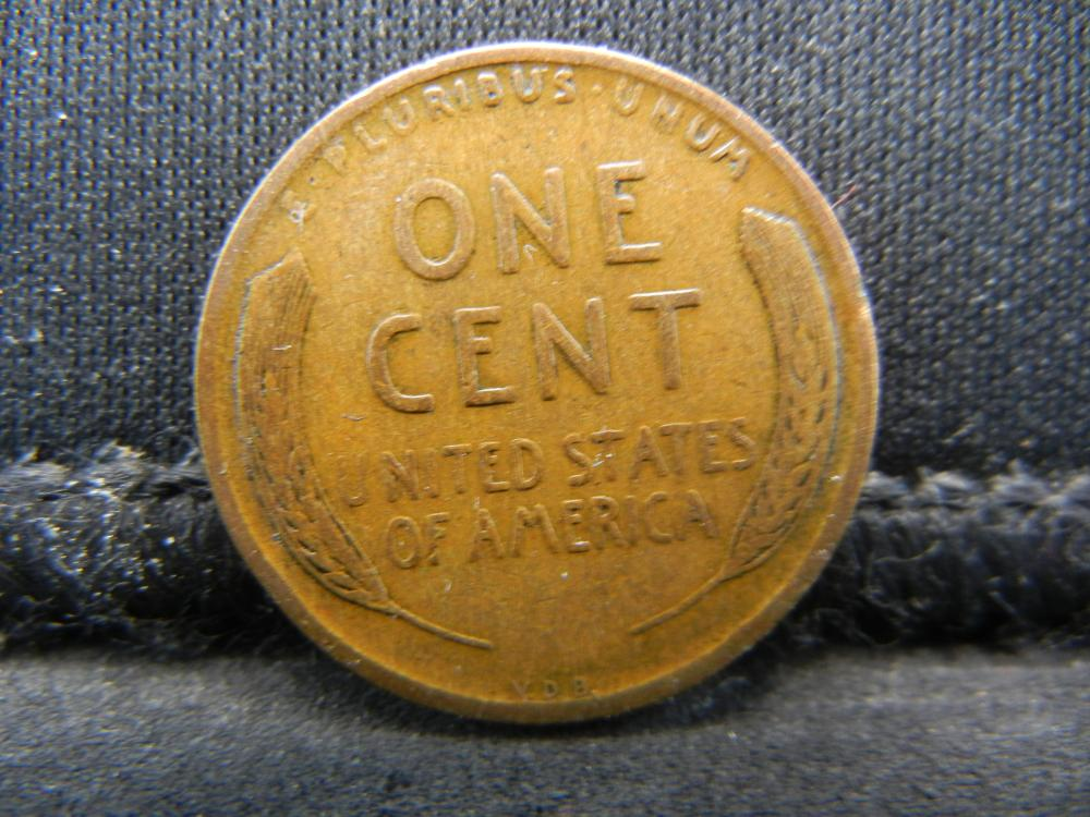 Lot 21Y: 1909 V.D.B. Wheat Cent
